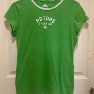 GREEN SPORTY ADIDAS TOO
